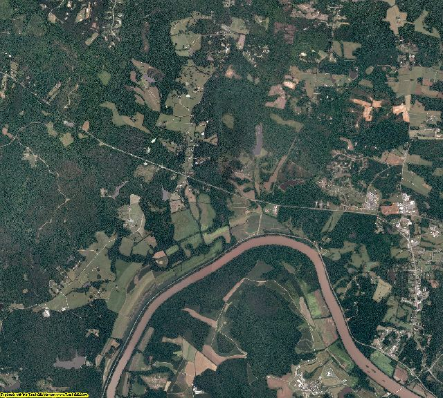 Goochland County, Virginia aerial photography