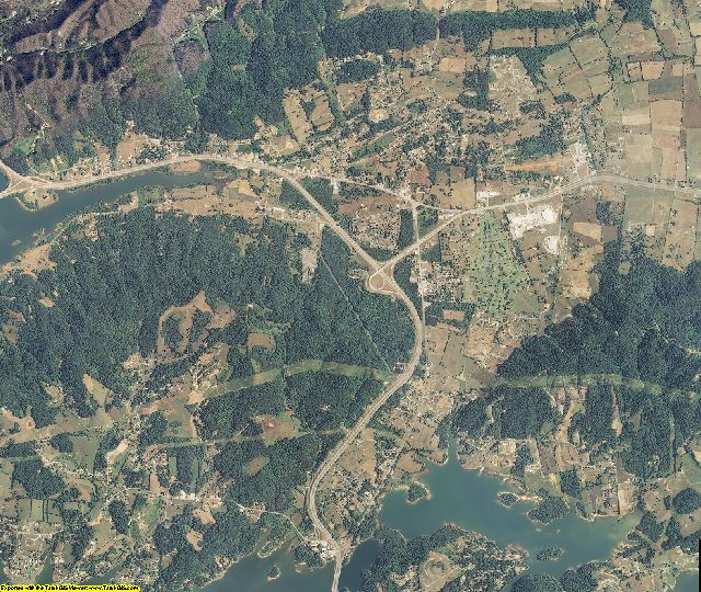 Grainger County, Tennessee aerial photography