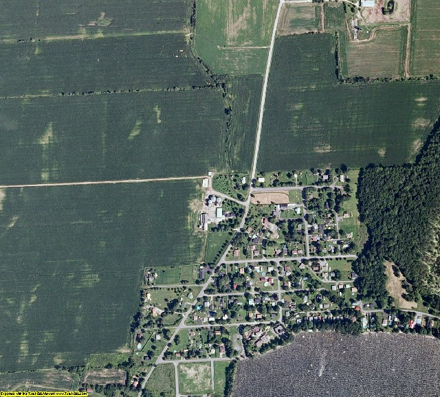 Grand Isle County, Vermont aerial photography