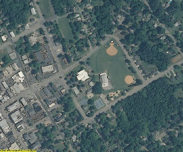 Granville County, NC aerial photography detail