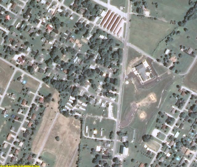 Grayson County, KY aerial photography detail