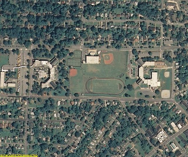 Guilford County, NC aerial photography detail
