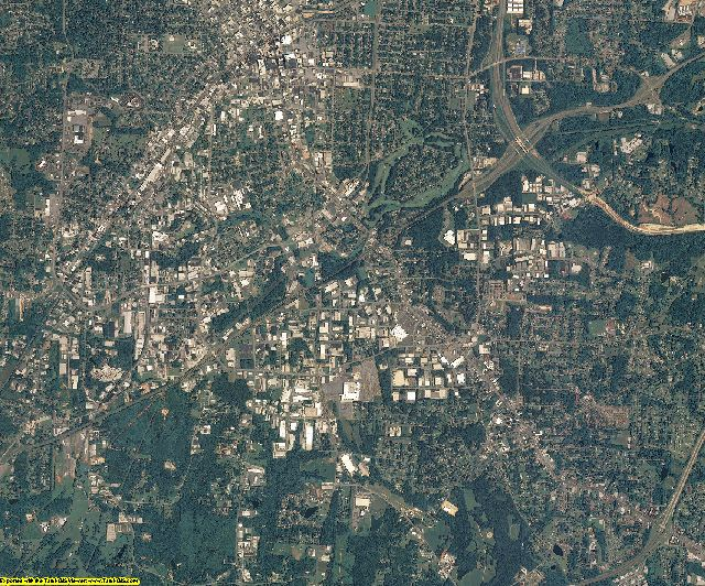 Guilford County, North Carolina aerial photography