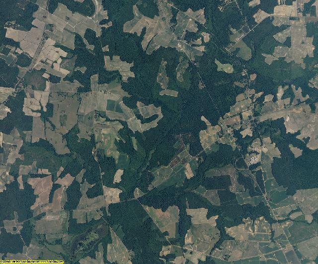 Halifax County, North Carolina aerial photography