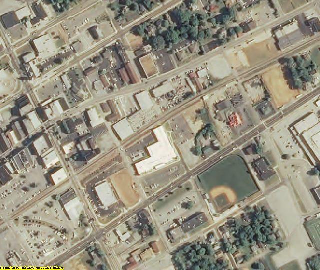 Hamblen County, TN aerial photography detail