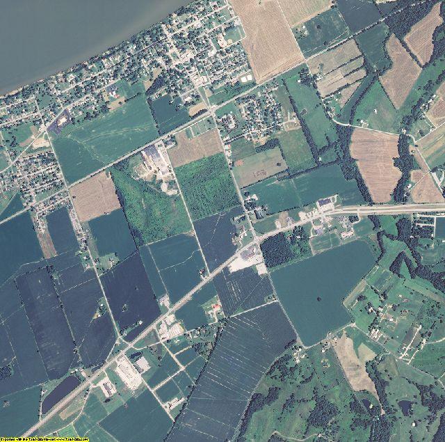 Hancock County, Kentucky aerial photography
