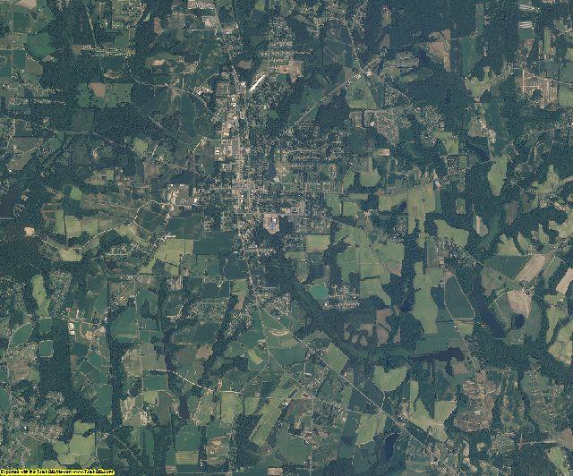 Harnett County, North Carolina aerial photography