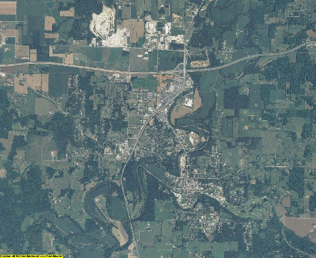 Harrison County, Indiana aerial photography