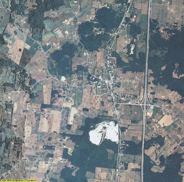 Hart County, Kentucky aerial photography