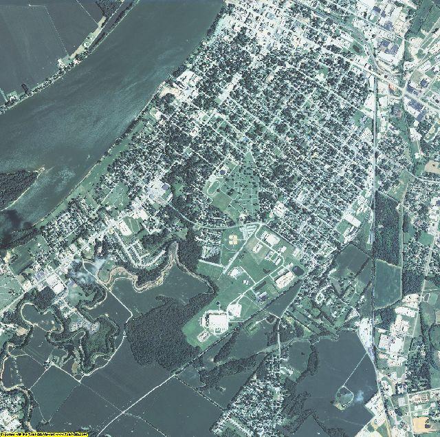 Henderson County, Kentucky aerial photography