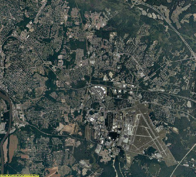 Henrico County, Virginia aerial photography