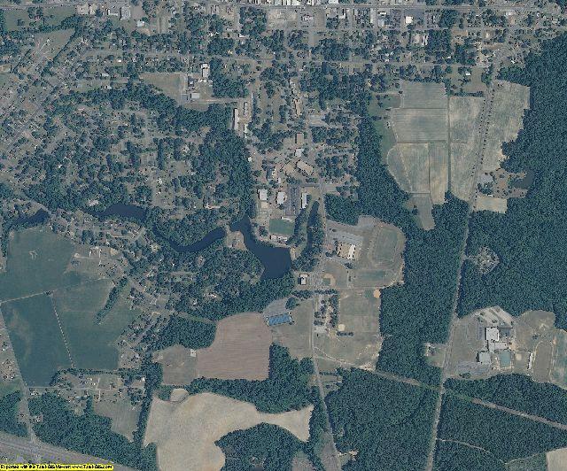 Hertford County, North Carolina aerial photography
