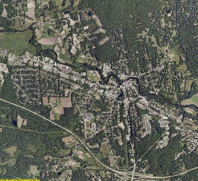 Hillsborough County, New Hampshire aerial photography