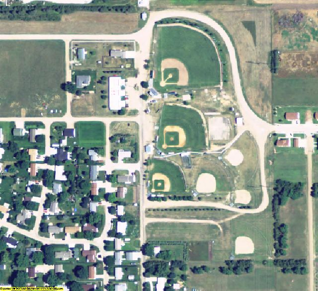 Holt County, NE aerial photography detail