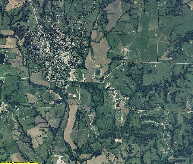 Howard County, Missouri aerial photography