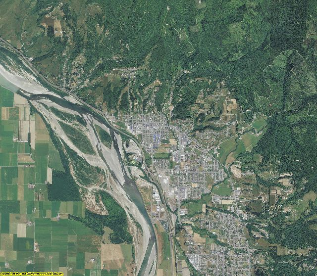 Humboldt County, California aerial photography