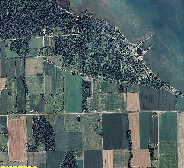 Huron County, Michigan aerial photography