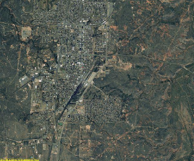 Hutchinson County, Texas aerial photography