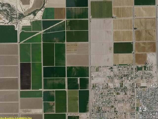 Imperial County, California aerial photography