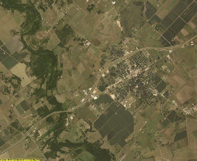 Jackson County, Texas aerial photography