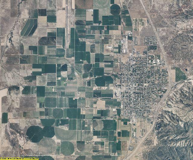 Juab County, Utah aerial photography