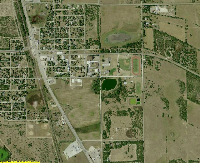 Kenedy County, TX aerial photography detail