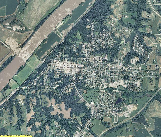 Lafayette County, Missouri aerial photography