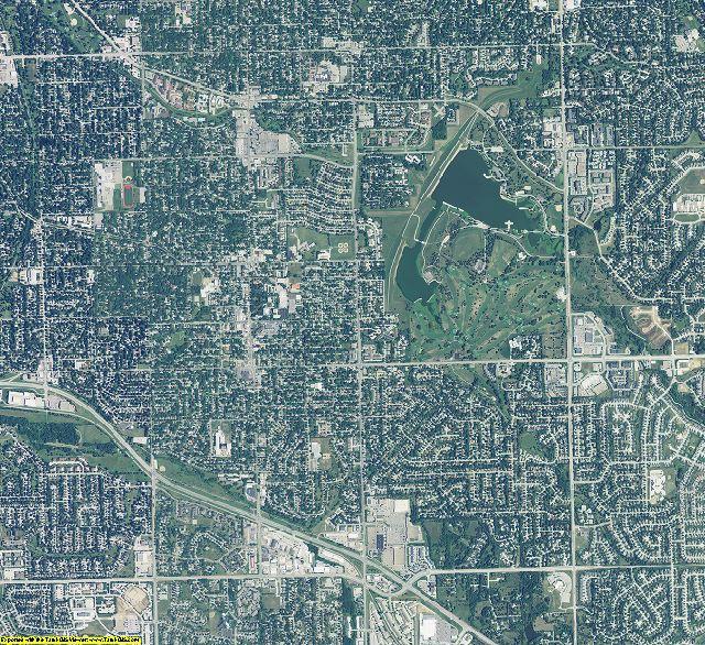 Lancaster County, Nebraska aerial photography