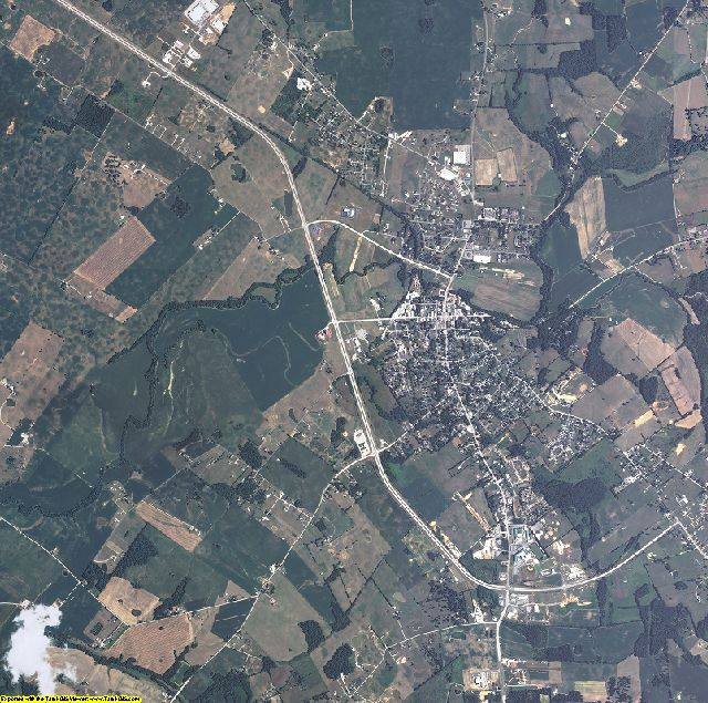 Larue County, Kentucky aerial photography