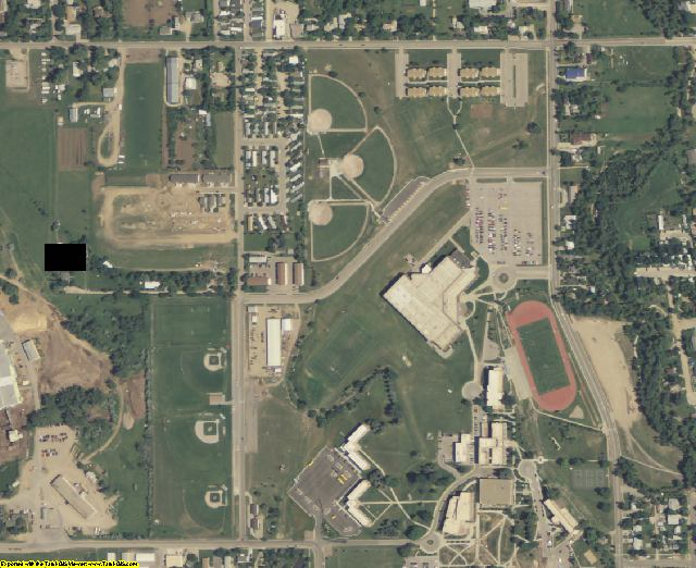 Lawrence County, SD aerial photography detail