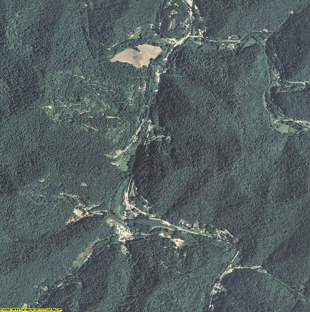 Leslie County, Kentucky aerial photography