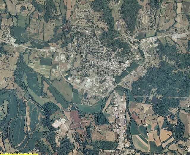 Lincoln County, Tennessee aerial photography