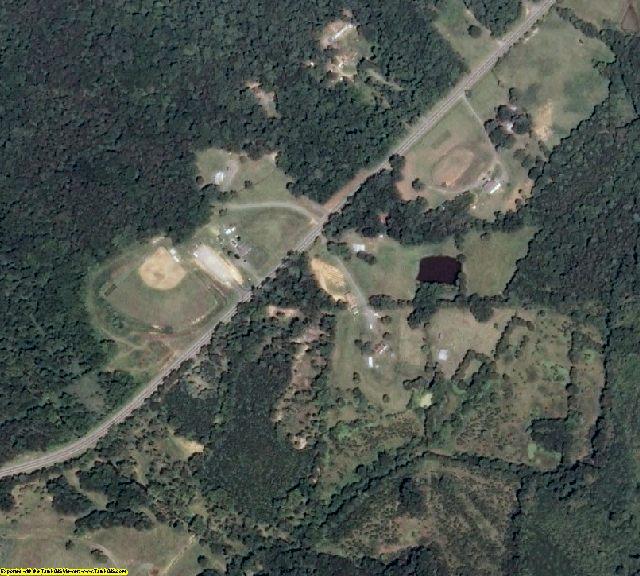 Louisa County, VA aerial photography detail