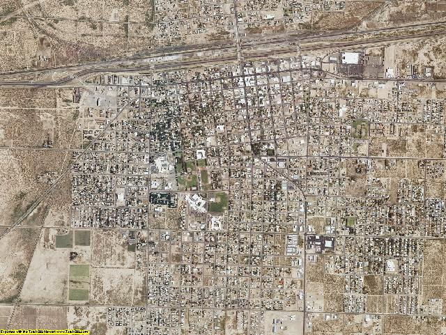 Luna County, New Mexico aerial photography