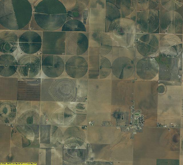 Lynn County, Texas aerial photography