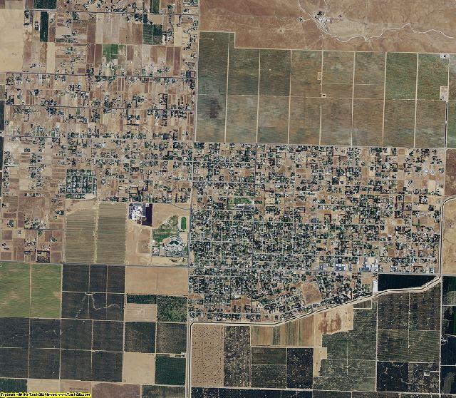 Madera County, California aerial photography