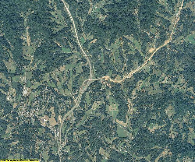 Madison County, North Carolina aerial photography