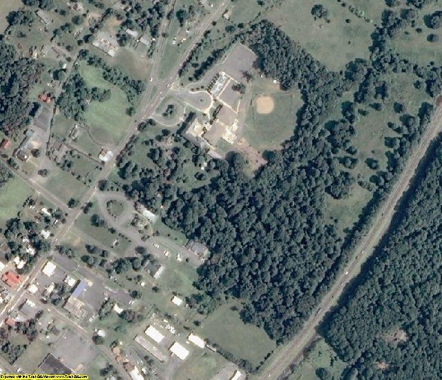 Madison County, VA aerial photography detail