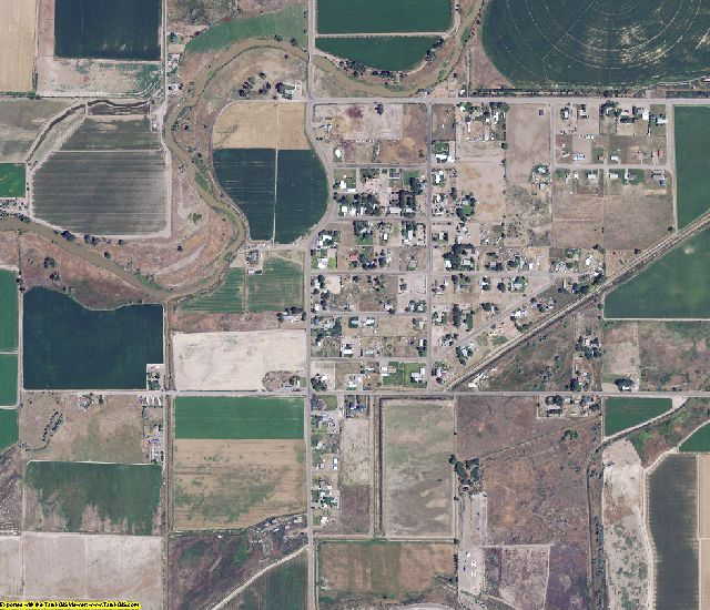Malheur County, OR aerial photography detail