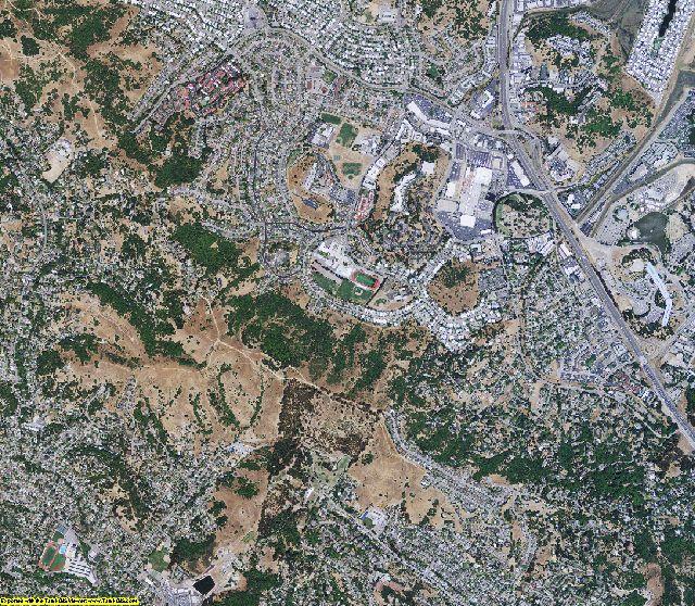 Marin County, California aerial photography