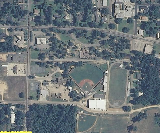 Marion County, MS aerial photography detail
