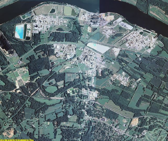 Marshall County, Kentucky aerial photography