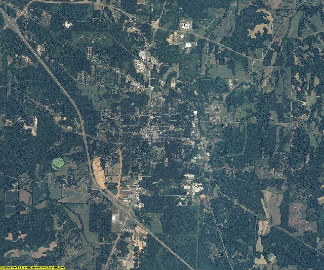 Marshall County, Mississippi aerial photography