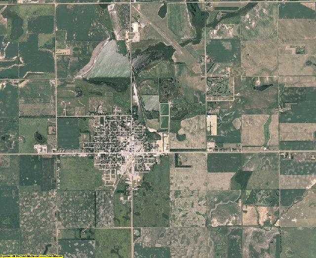 Marshall County, South Dakota aerial photography