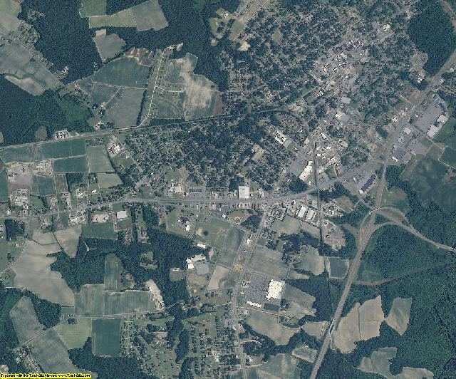 Martin County, North Carolina aerial photography