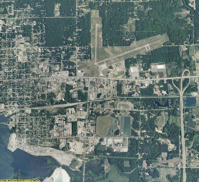 Mason County, Michigan aerial photography