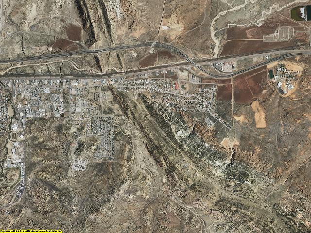 McKinley County, New Mexico aerial photography