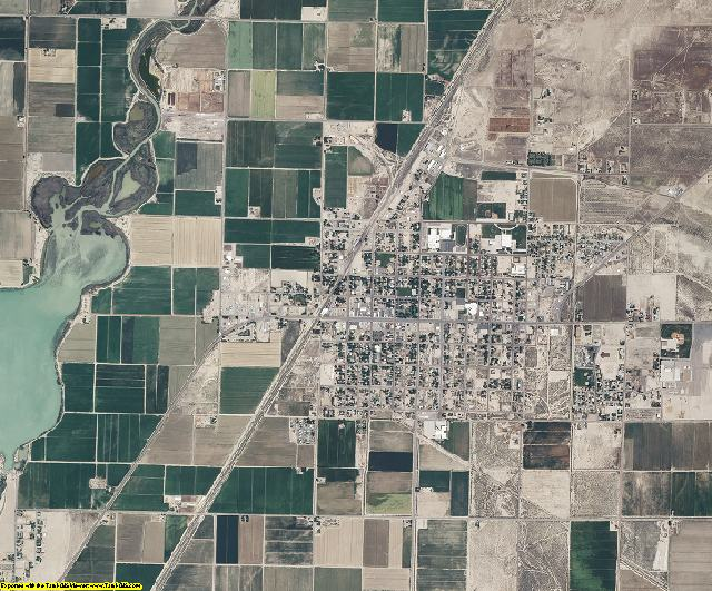 Millard County, Utah aerial photography
