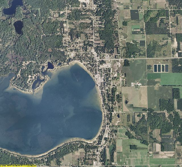 Missaukee County, Michigan aerial photography