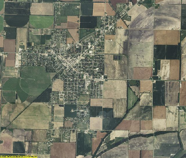 Mississippi County, Missouri aerial photography